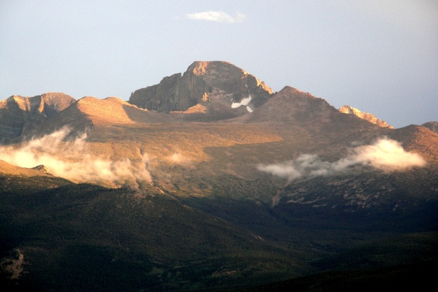Long's Peak Rocky Mountain National Park