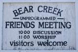 Bear Creek Meeting