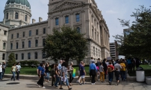 Indiana Moral Mondays march October 2014