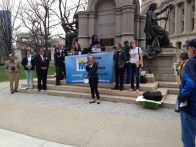 Asking for civil rights protections for Indiana's LGBT community