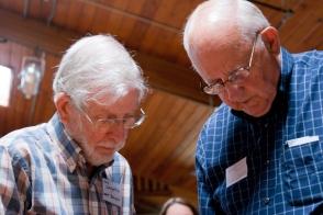 Don Laughlin and Burt Kisling