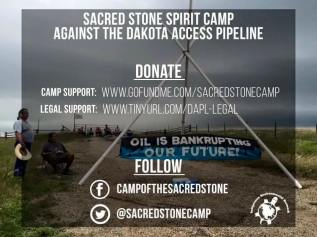 sacred stone camp support