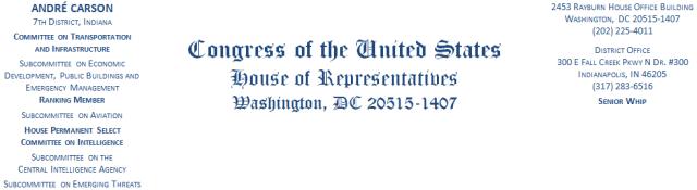 congressmancarsonletterhead