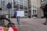 #NoDAPL Chase bank Indianapolis