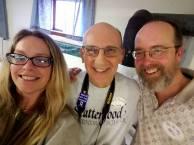 With Christine Ashley (FCNL) and Jon Krieg (AFSC)