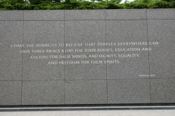 Martin Luther King, Jr Memorial, Washington, DC