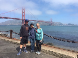 Lisa Alice Eric Golden Gate Bridge Bear Creek Iowa Yearly Meeting (Conservative) 1