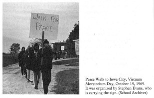 Scattergood Peace Walk 1969