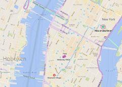 YMCA to Greenwich Village