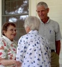 Wanda Knigh, Mary Mendenhall, John Griffith