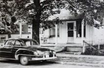 Paul's car in front of VSM house