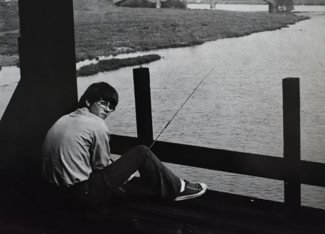 Jeff Johnson fishing White River