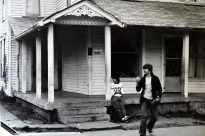 Kenny and Curtis outside VSM house