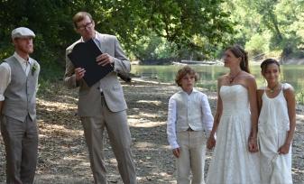 Wedding of Joshua Taflinger and Brandi Herron