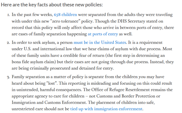 family separation toolkit